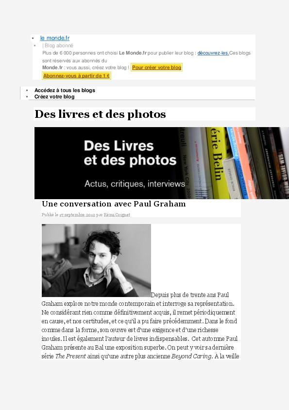 PAULGRAHAM dans « une conversation avec Paul Graham » par Remi Coignet