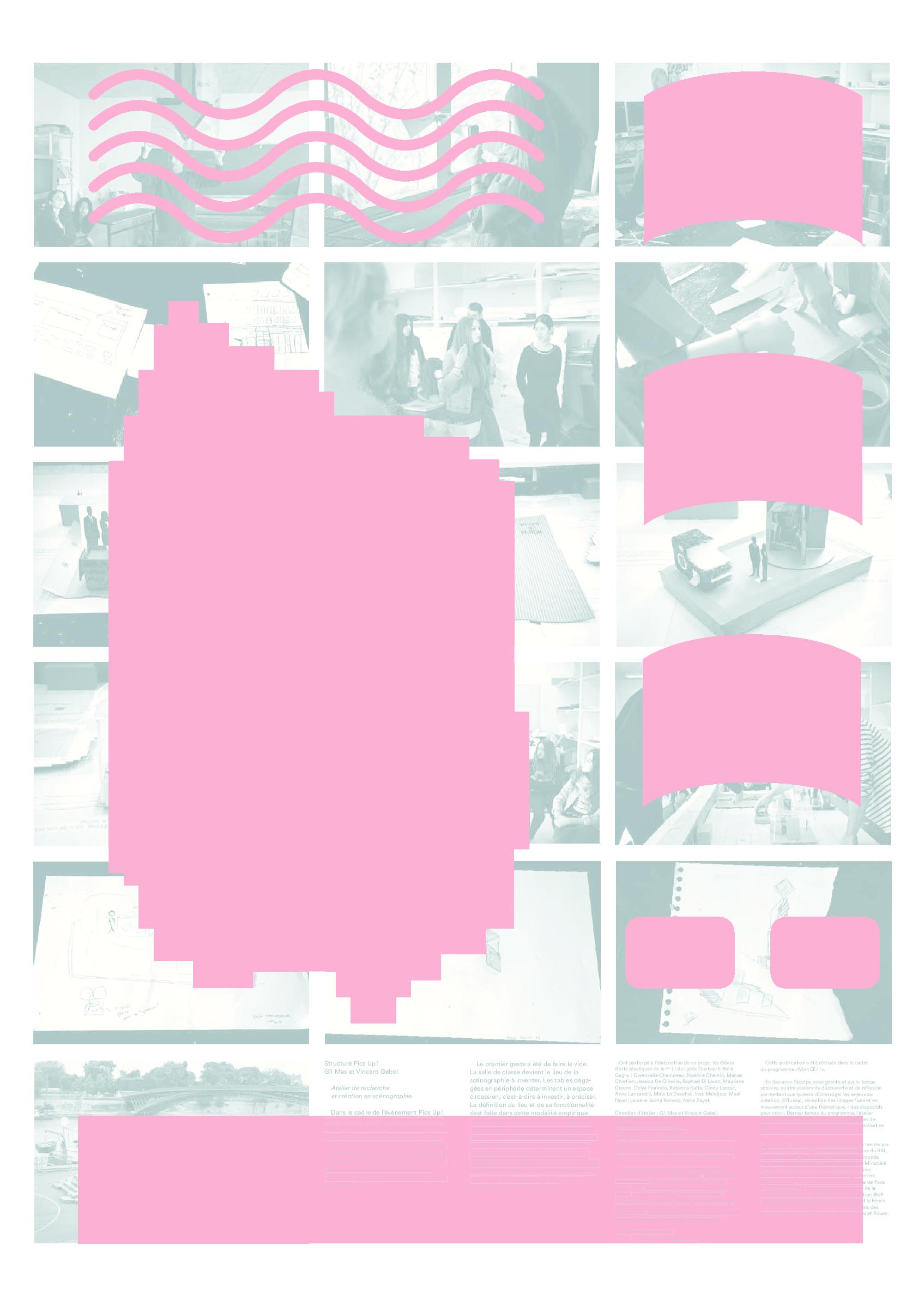 Affiche Studio Pics Up (2014-2015)