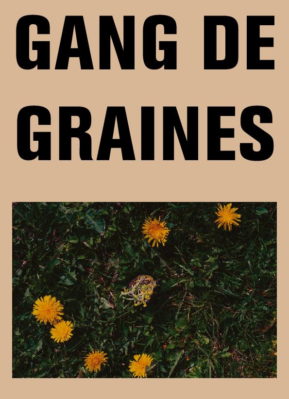 Gang de graines