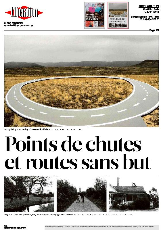 READYTOBEMADE,  Libération, Brigitte Olier et Eric Loret, 10 août 2013
